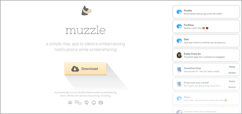 muzzle for ecommerce business